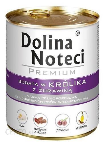 DOLINA NOTECI PREMIUM Królik i żurawina 24x800g