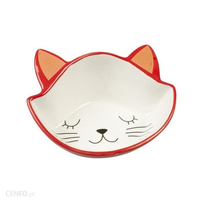 Duvo+ Kitty Face Miska Ceramiczna Dla Kota 0