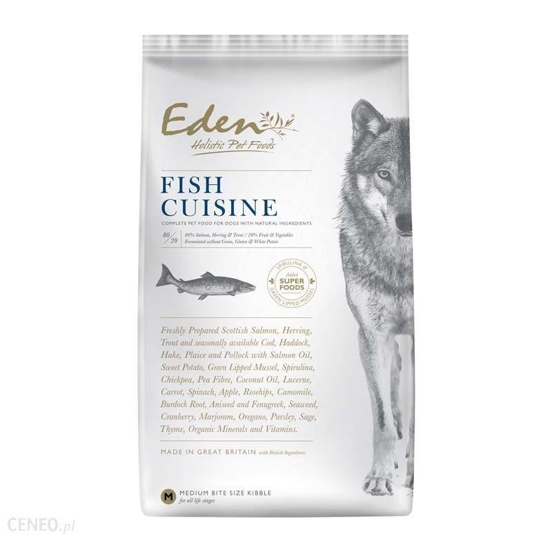 Eden Fish Cuisine Łosoś I Śledź Rasy Średnie I Duże 12Kg
