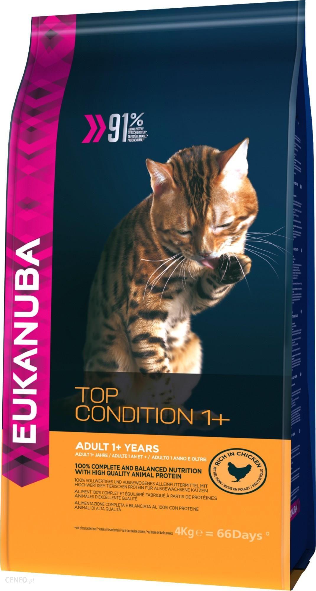 Eukanuba Top Condition 1+ Bogata w kurczaka 4kg