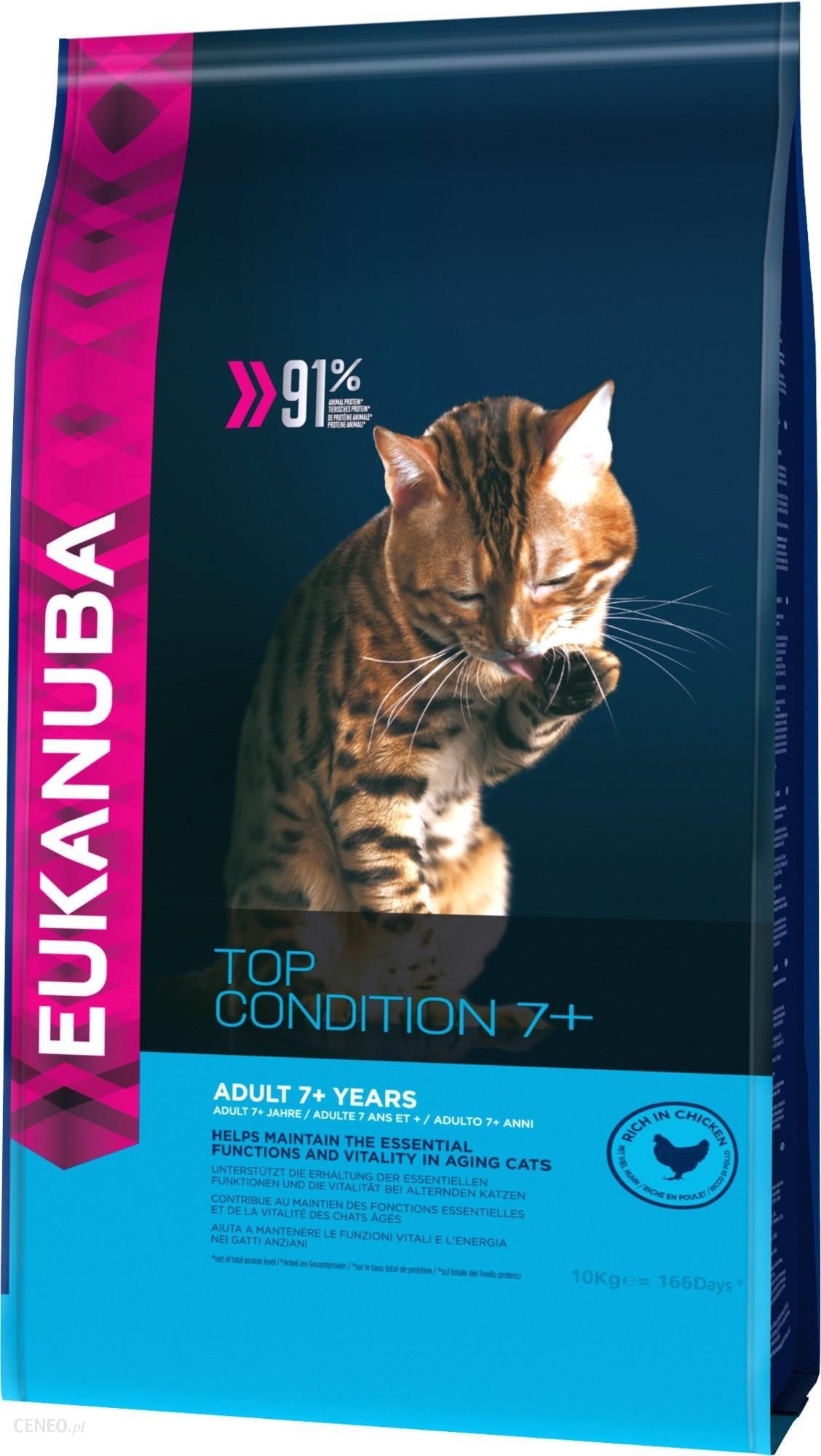 Eukanuba Top Condition 7+ Bogata w kurczaka 10kg