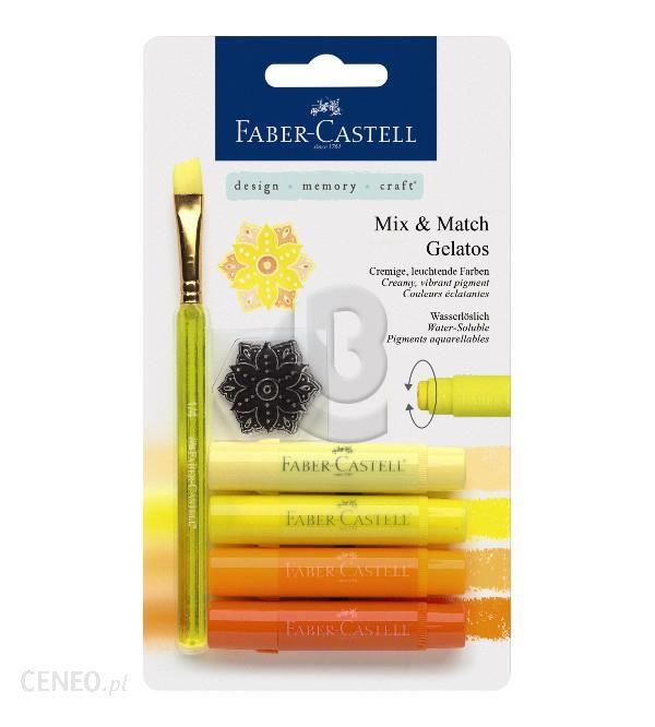 Faber-Castell Kredki Pigmentowe Gelatos Faber-Castell