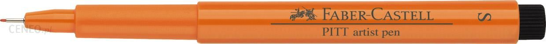 Faber Castell Pitt Artist Pen Fineliner S Pomarańczowy