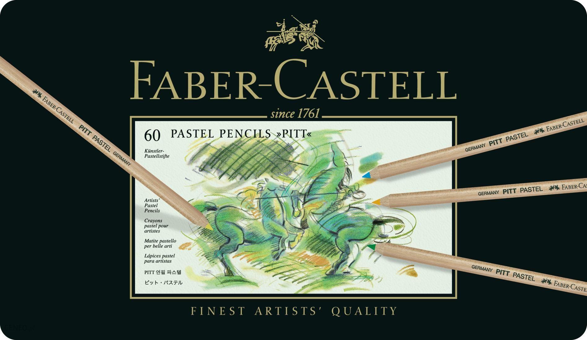 Faber Castell Pitt Kredka Pastelowa 60Szt