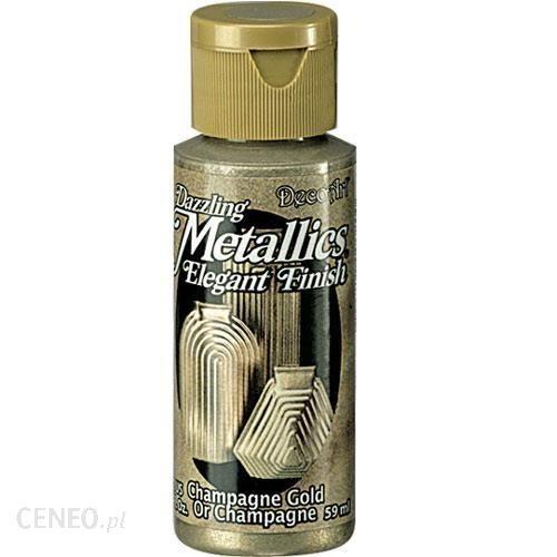 Farba Dazzling Metallics 59ml złoto szampańskie ZSM