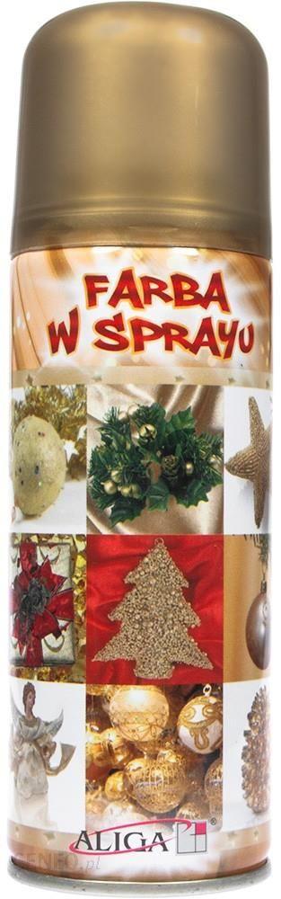 Farba Ozdobna W Sprayu Złota 250Ml (fs100g)