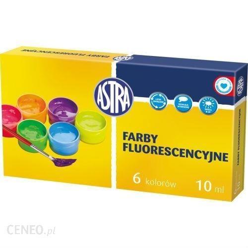 Farby fluorescencyjne 6 kolorów/10ml