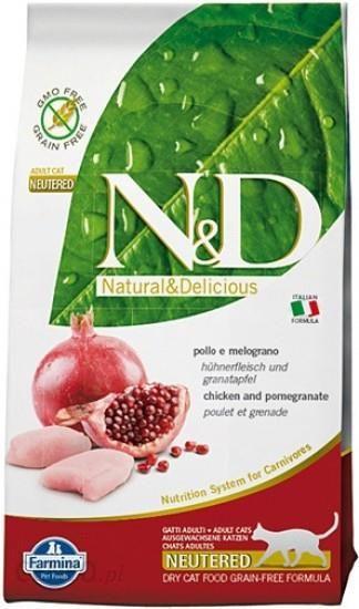 Farmina N&D Bez Zbóż Kurczak Z Granatem Sterylizowanych 1