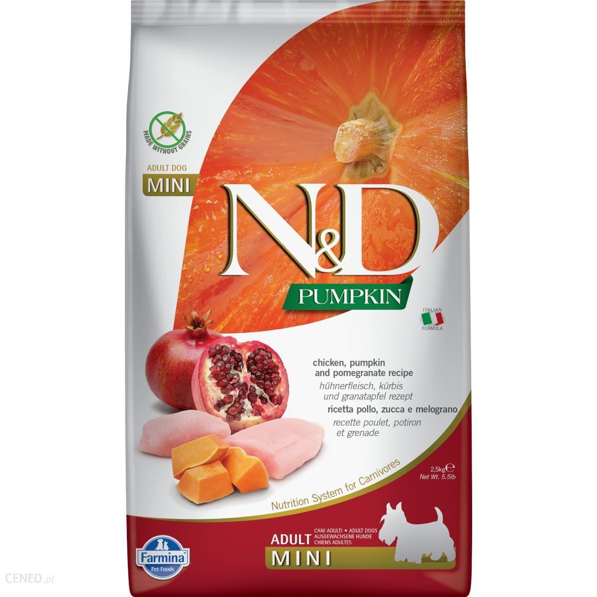 Farmina N&d Gf Pumpkin Chicken&pomegranate Adult Mini 2