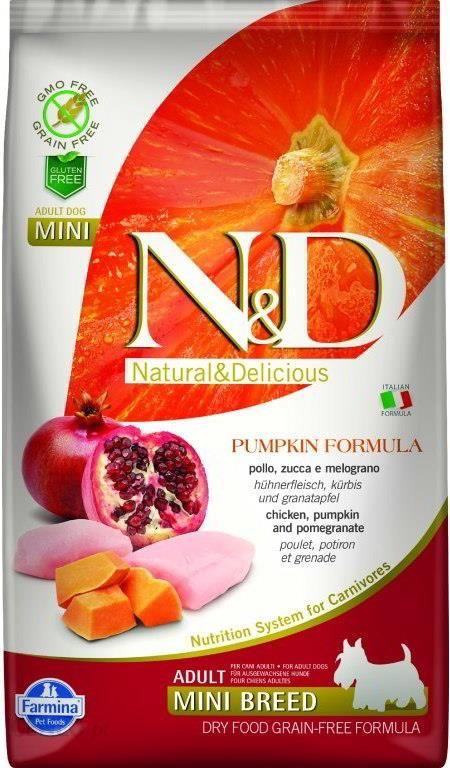 Farmina N&d Gf Pumpkin Chicken&pomegranate Adult Mini 2x7kg