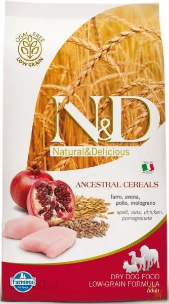 Farmina N&D Low Grain Chicken & Pomegranate Adult Small 2