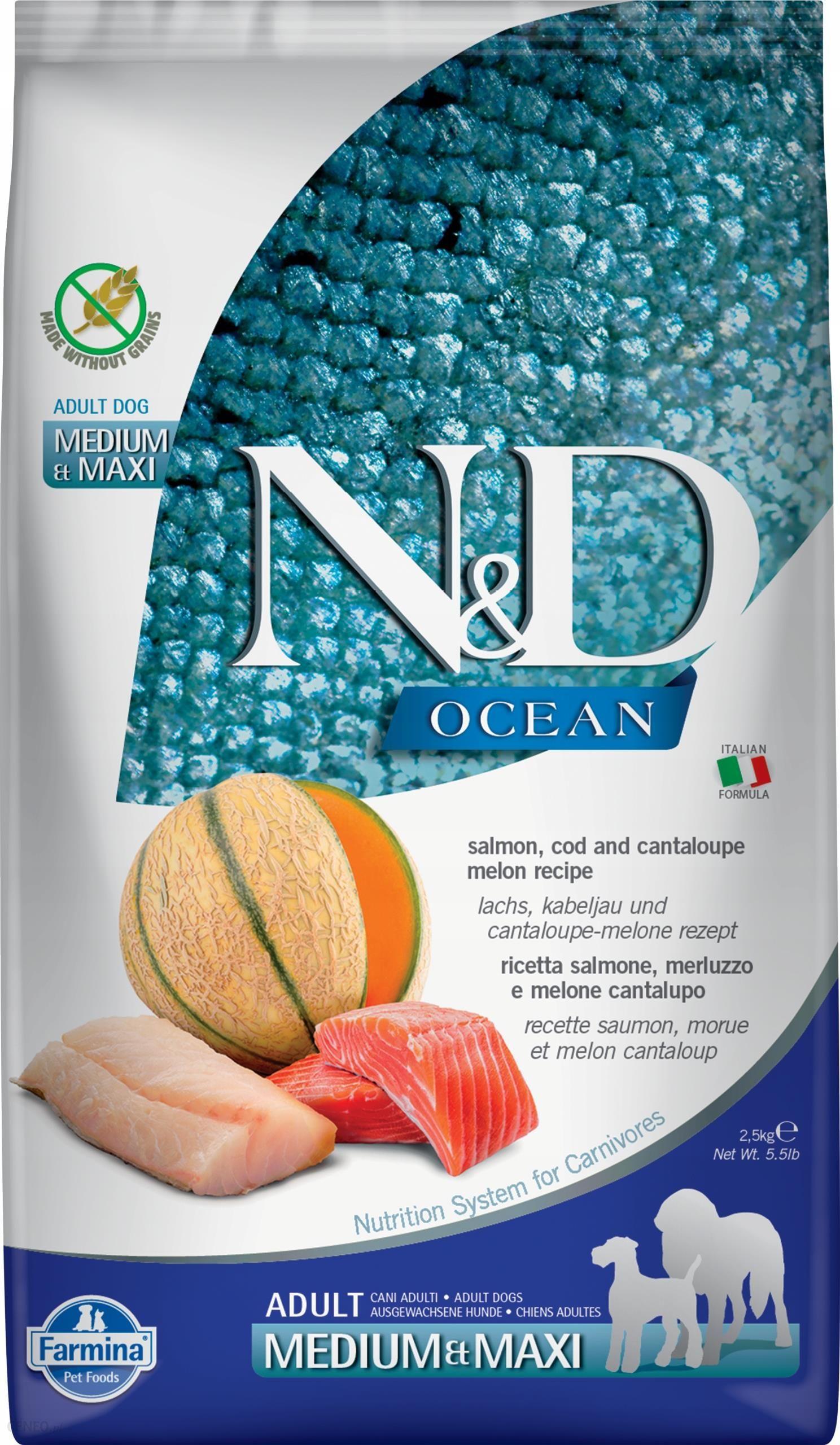 Farmina Nd Gf Ocean Adult Med/Max Salmon Cod 2