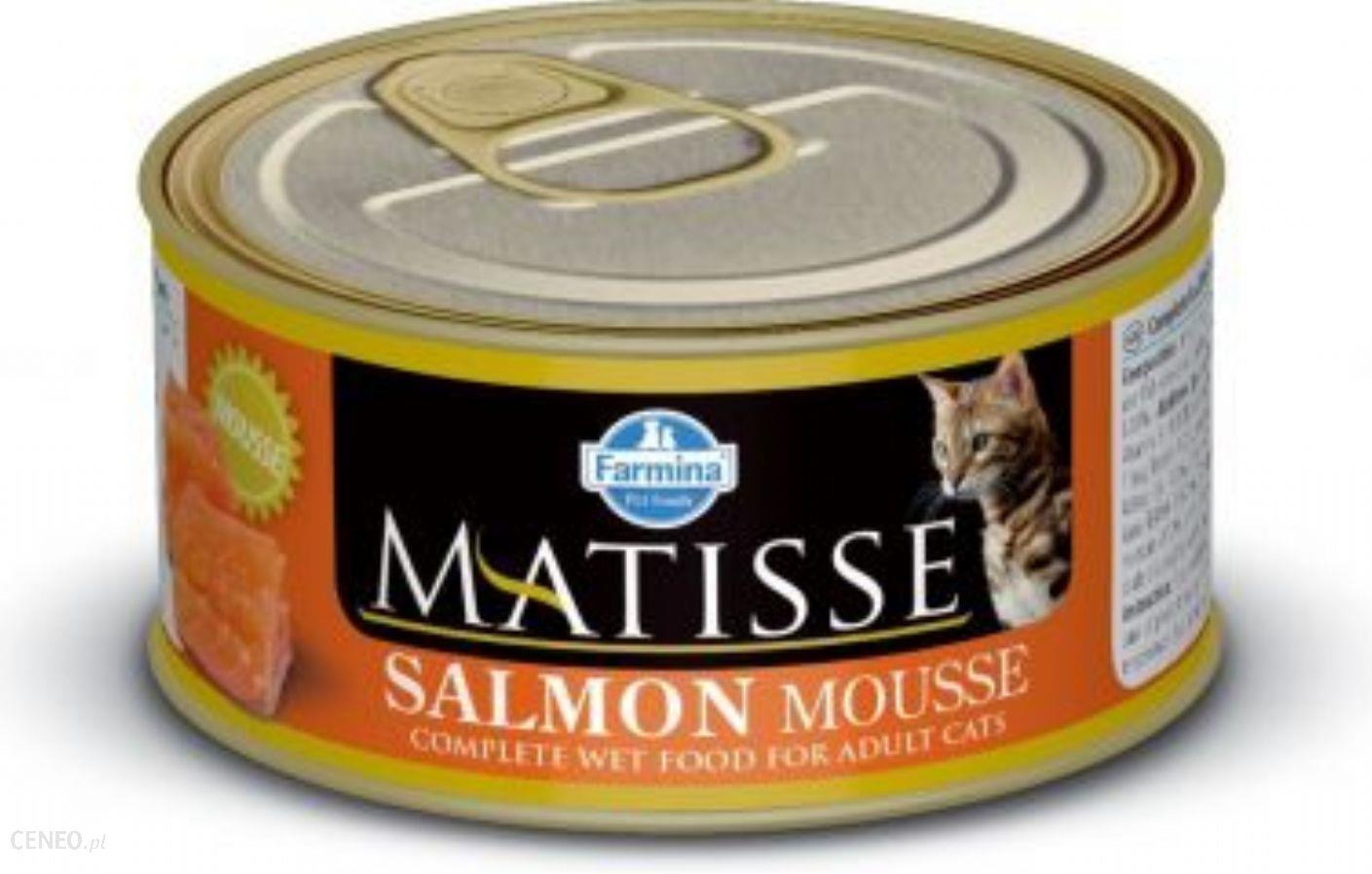 FARMINA PET FOODS Matisse Mus Łosoś 85g