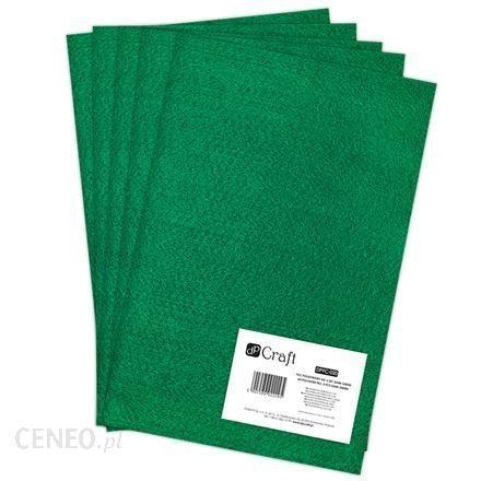 Filc poliestrowy A4 5 sztuk dark green