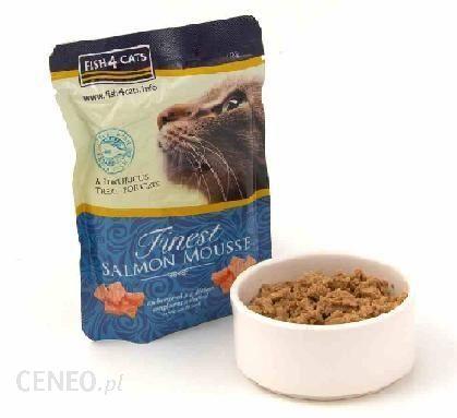 Finest Fish4Cats Salmon Mousse 100g