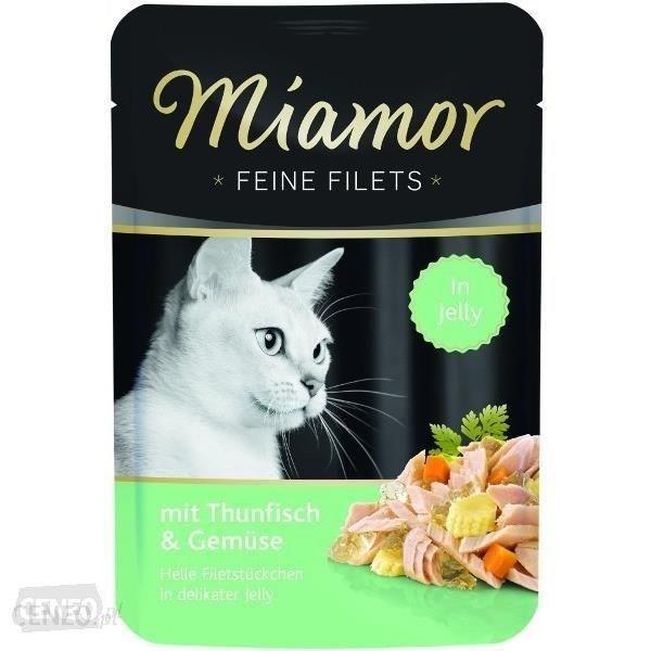 Finnern Miamor Feine Filets Tuńczyk warzywa saszetka 100g