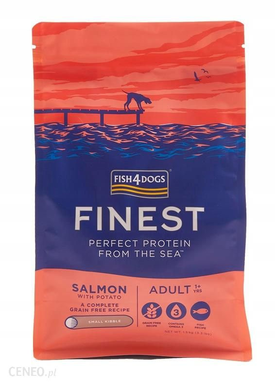 Fish4Dogs Finest Salmon Adult Small 1