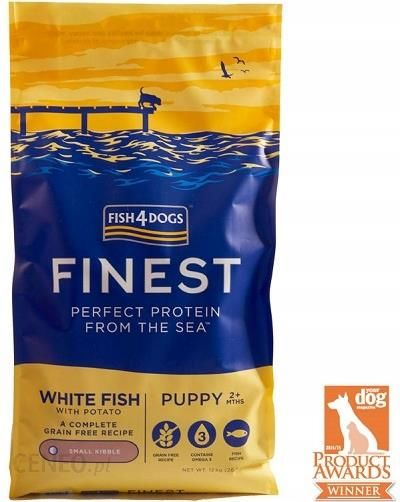 Fish4Dogs Finest White Fish Puppy Small 12Kg