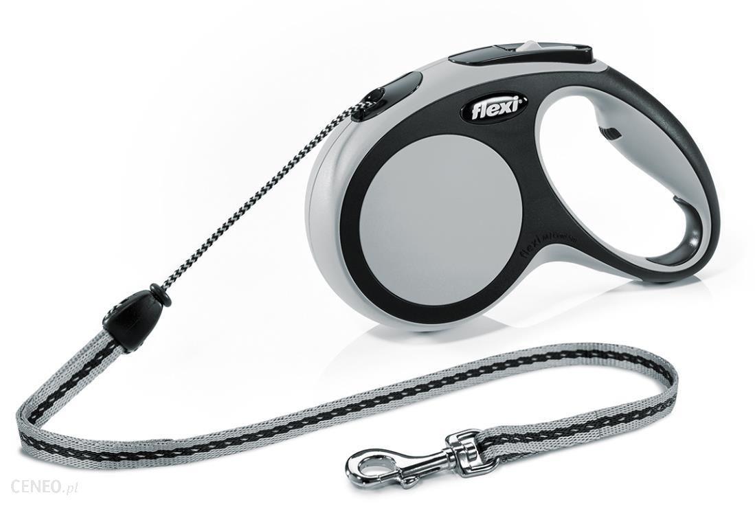 Flexi 8933 Smycz Comfort linka szara 20kg/5m M