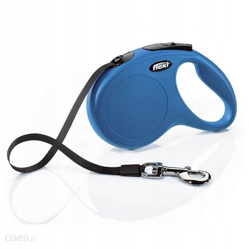 Flexi New Classic S taśma 5m do 15kg niebieska