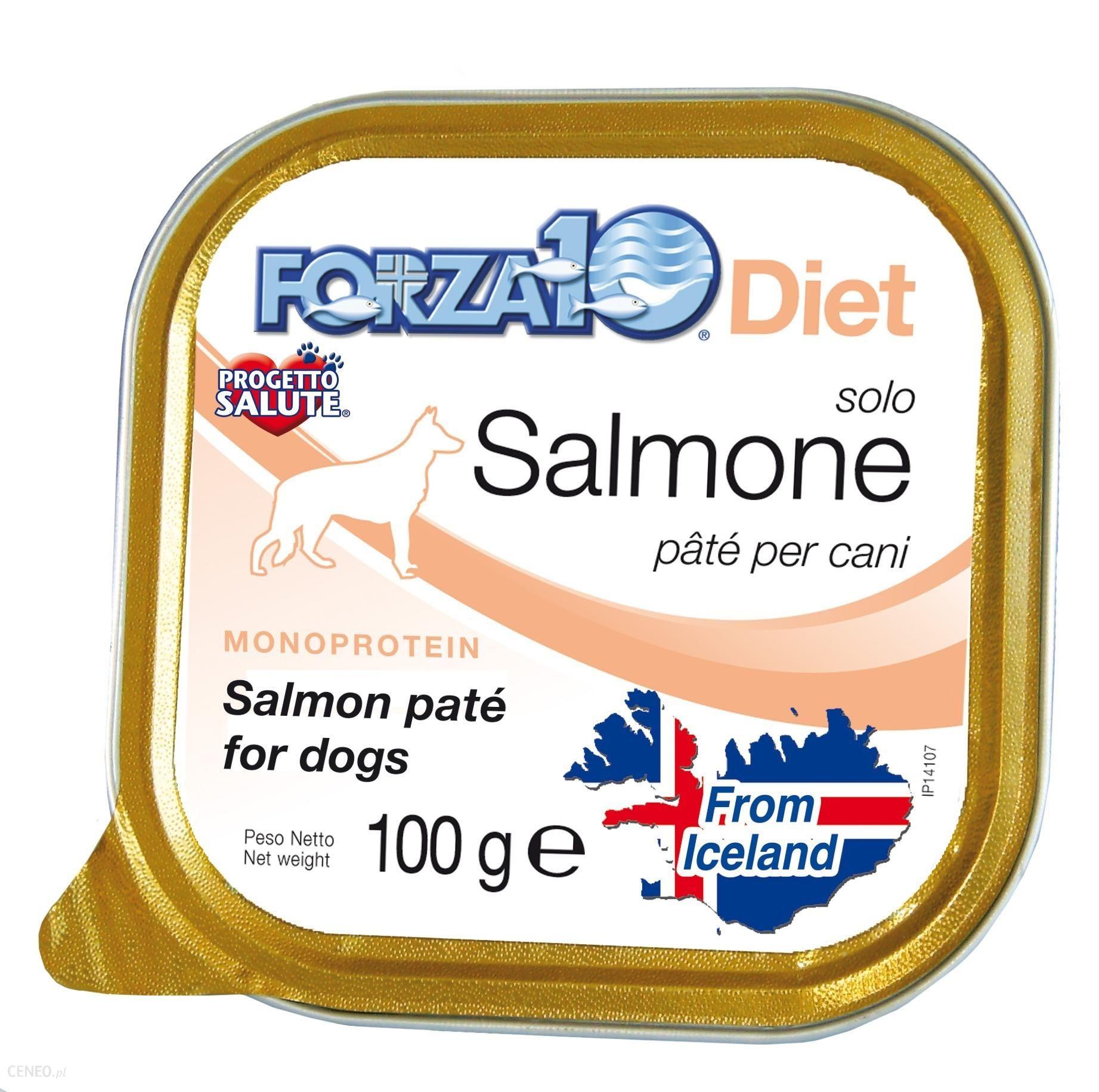 Forza10 Solo Diet Łosoś 100g