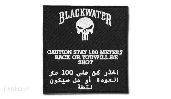 FOSTEX Naszywka Black Water 100 mtr 442306-3224