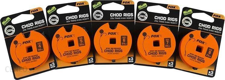 Fox Edges Chod Rigs Standard (Ccr156)