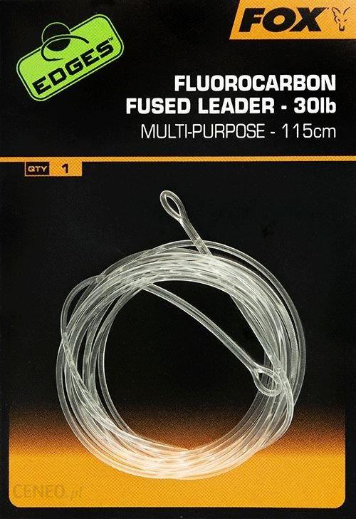 Fox Edges Fluorocarbon Fused Leaders 115Cm (Cac720)