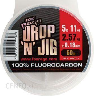 Fox Rage Drop 'N' Jig Fluorocarbon (Nml018)