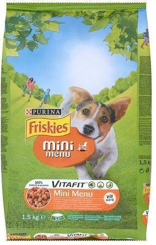 Friskies Vitafit Mini Menu kurczak 1