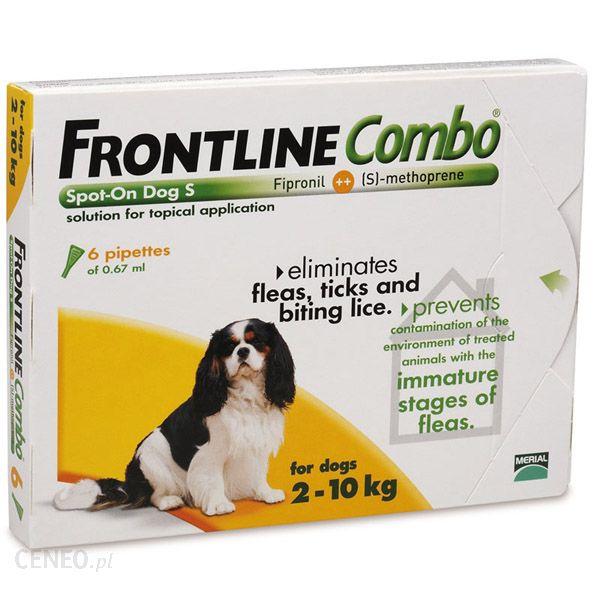 Frontline Combo Spot On S 3X0.67Ml