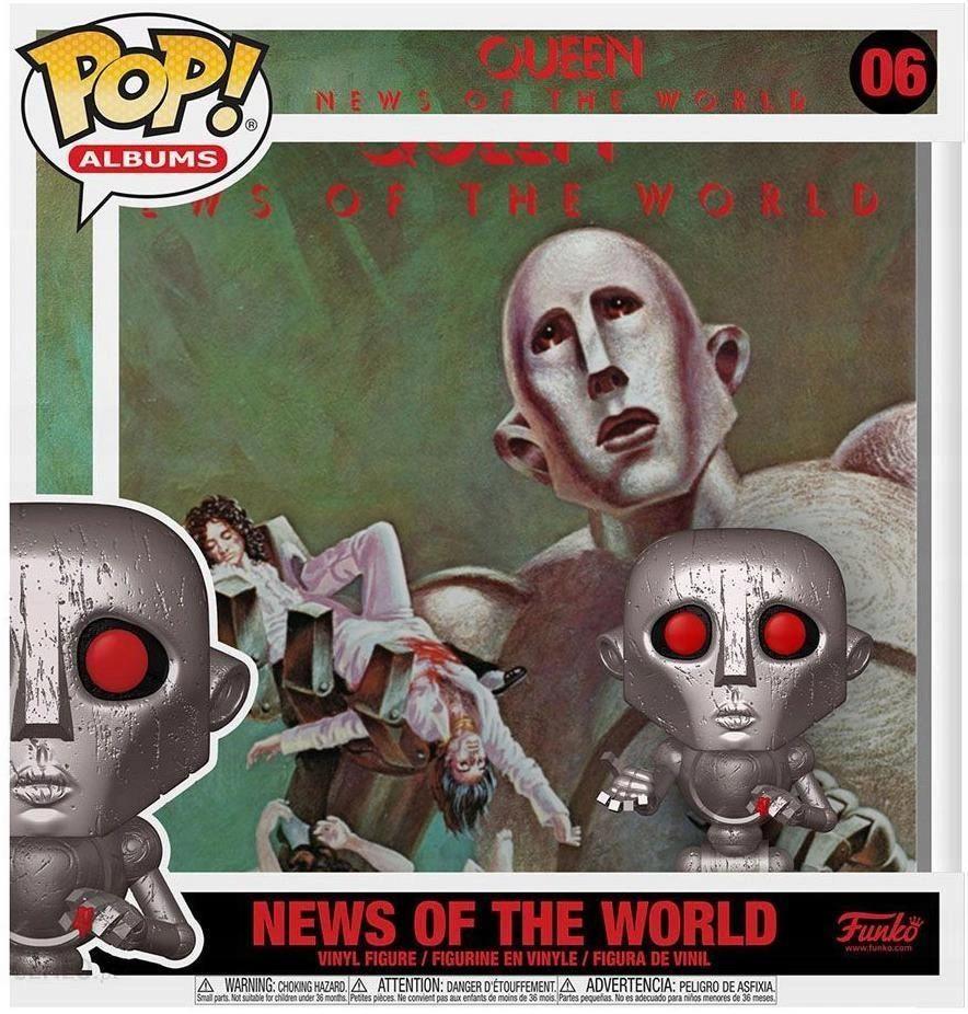 FUNKO POP! #06 NEWS OF THE WORLD - QUEEN ORYGINAŁ