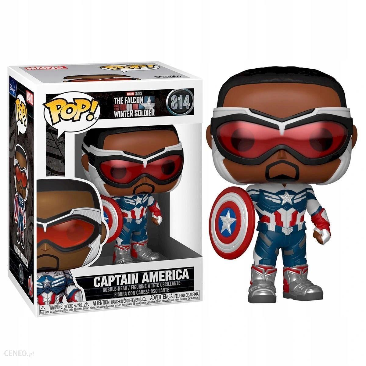 Funko Pop Funko Pop Figurka Funko Pop 814 Captain America Marvel