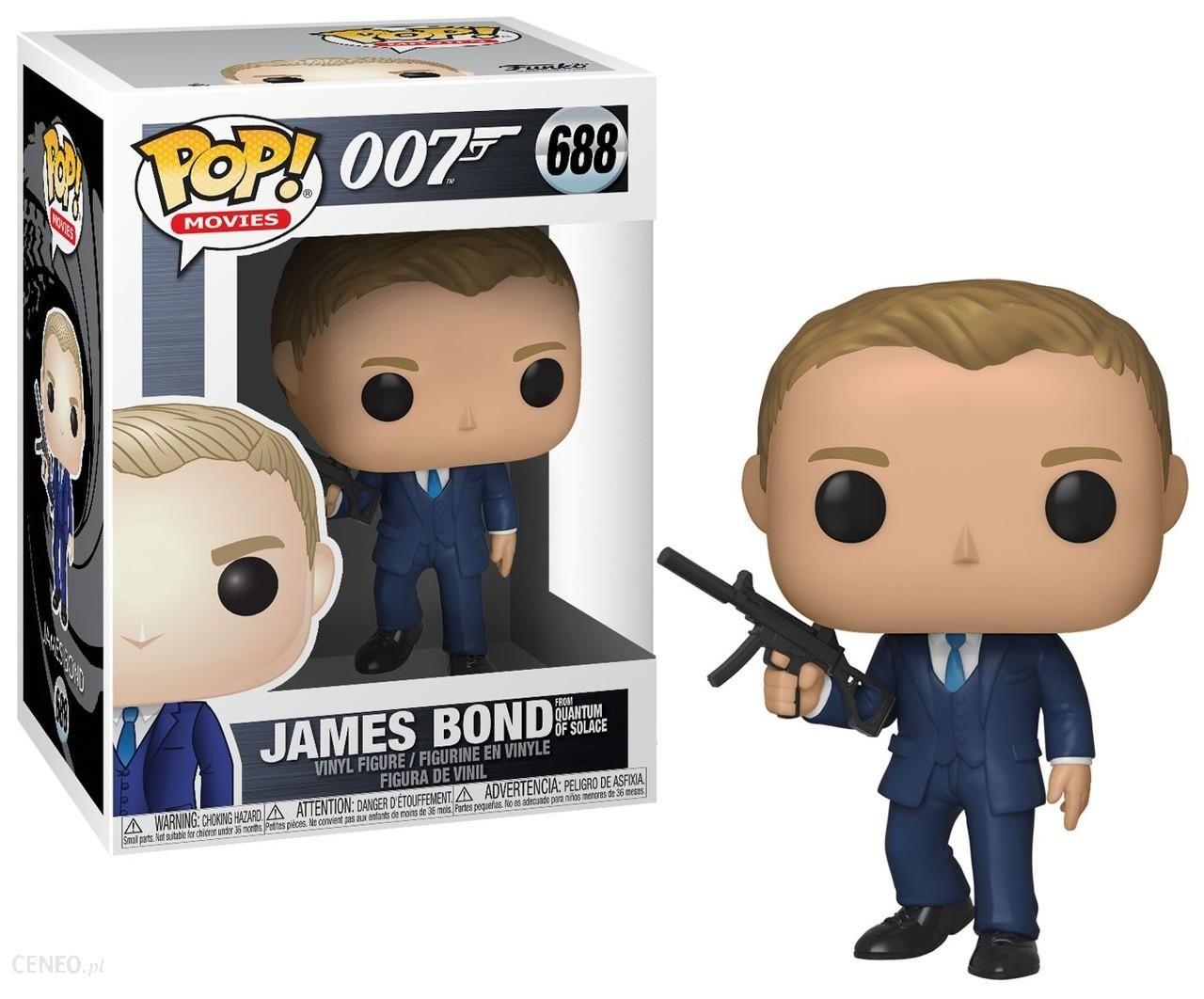 Funko Pop Movies James Bond Daniel Craig Quantum
