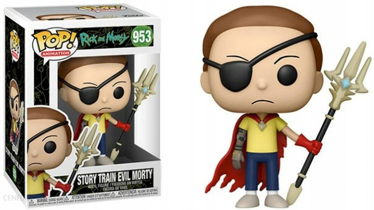 Funko Rick And Morty Pop Story Train Evil Morty 95