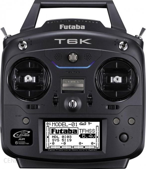 futaba Aparatura T6K 6CH 2.4GHz T-FHSS + odbiornik R3006SB (fbt6k)