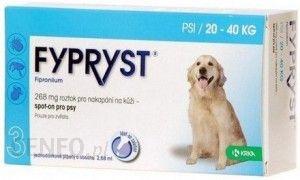 Fypryst Spot-On Pies 20-40Kg 268Mg/2