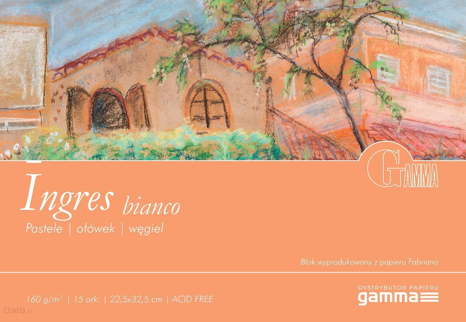 Gamma Blok Ingres Bianco 160G Do Pasteli I Rysunku 22