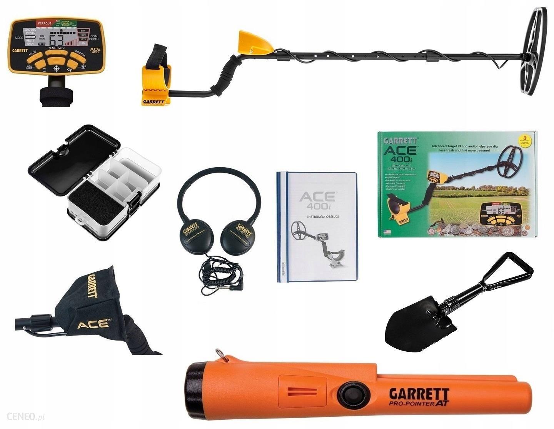 Garrett Ace 400I + Pro-Pointer At Zestaw Wykrywacz Metali