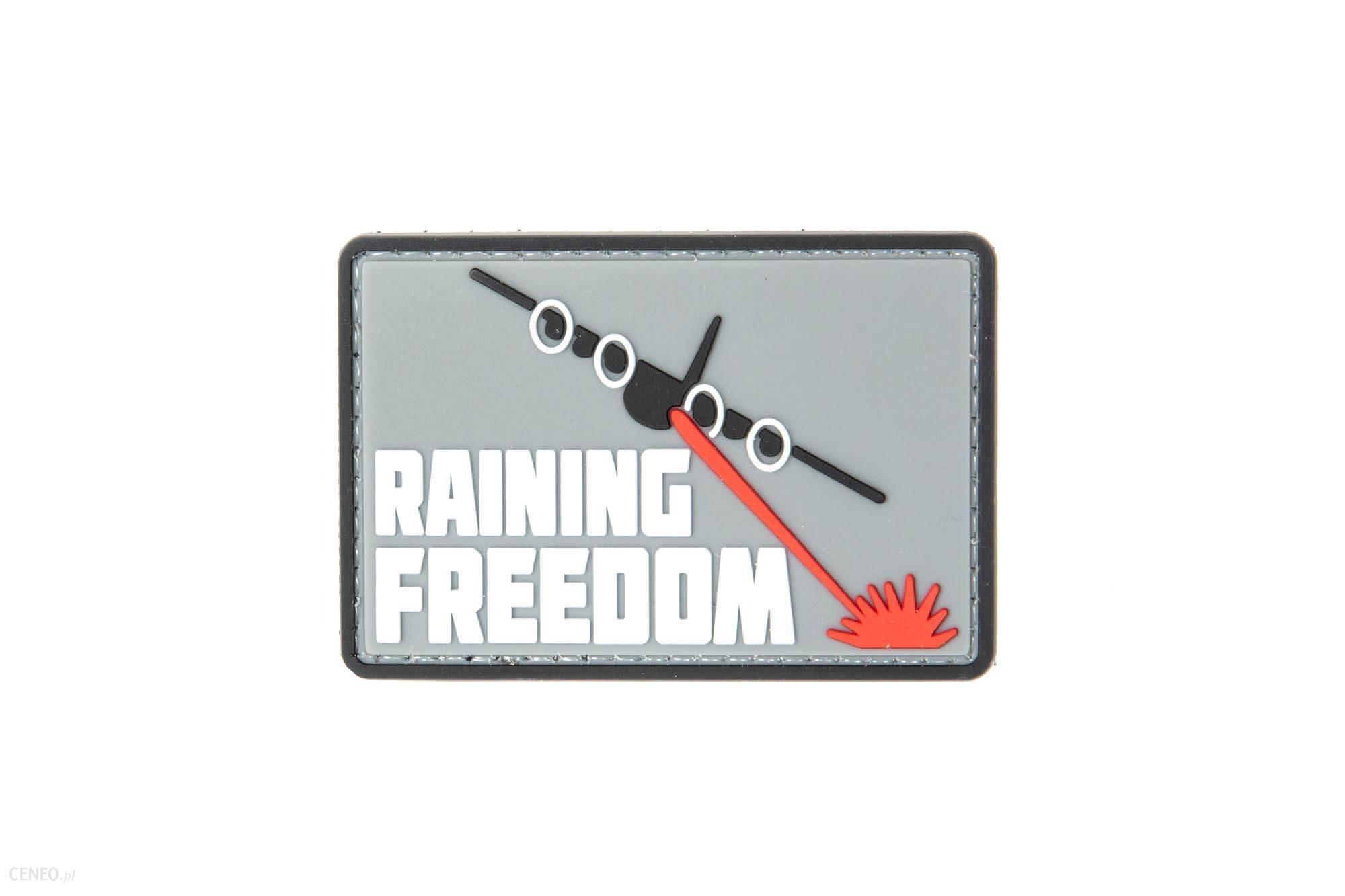 Gfc Tactical Naszywka 3D Raining Freedom