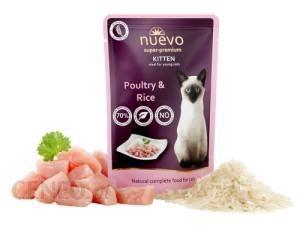 Gilpa Nuevo Super Premium Cat Kitten Poultry&Rice 85G