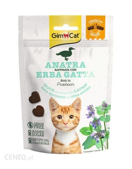 Gimborn Gimcat Crunchy Snack Kaczka Z Kocimiętką 50G