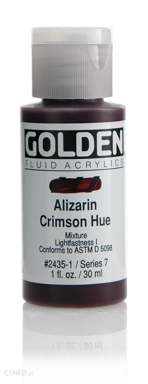 Golden Fl. Hist. Alizarin Crimson Hue 30ml -farba