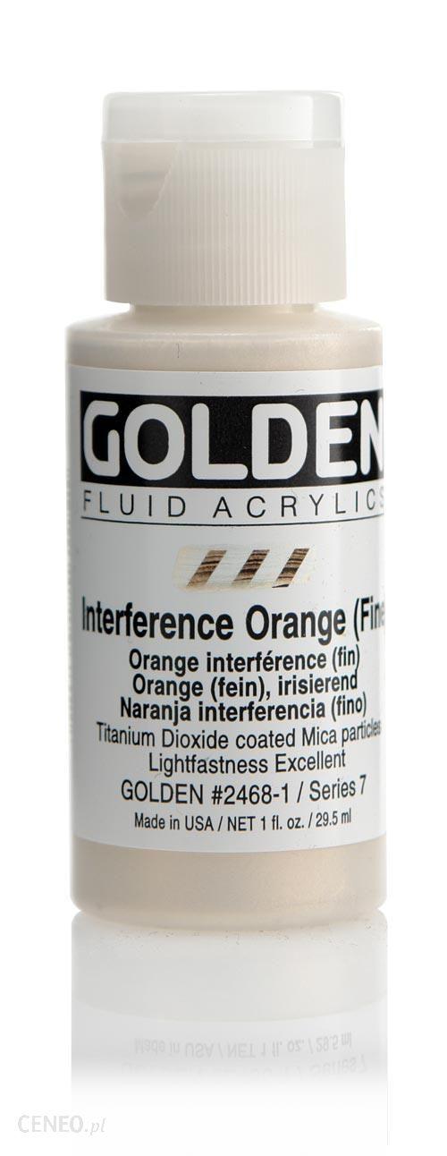 Golden Fl. Interference Orange (fine) 30ml -farba