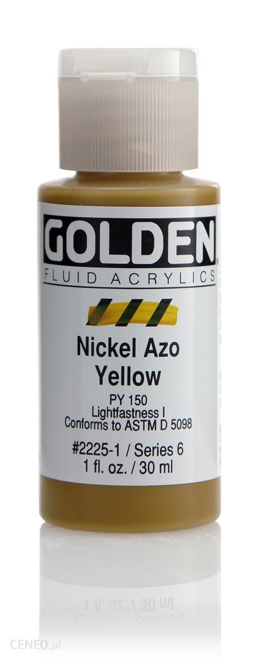 Golden Fl. Nickel Azo Yellow 30ml -farba