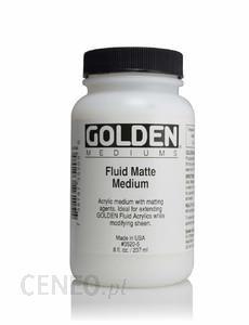 Golden Fluid Matte Medium 236ml - medium akrylowe