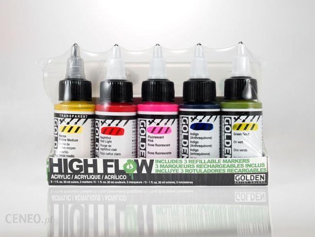 Golden High Flow Marker Set - zestaw farb akrylowych