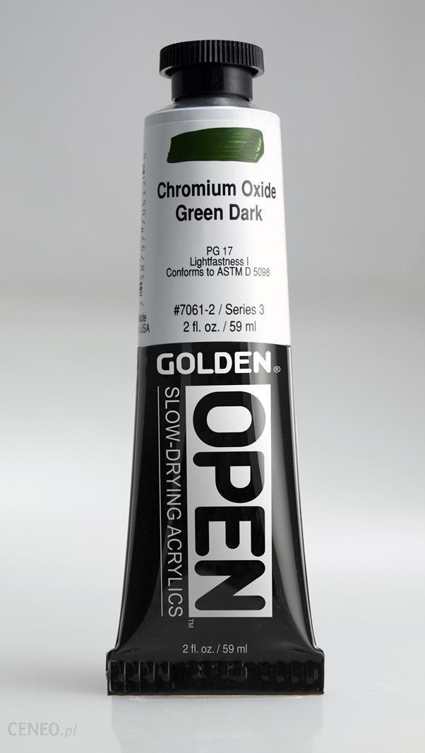 Golden OPEN Chrom Oxide Green Dark 59ml -farba