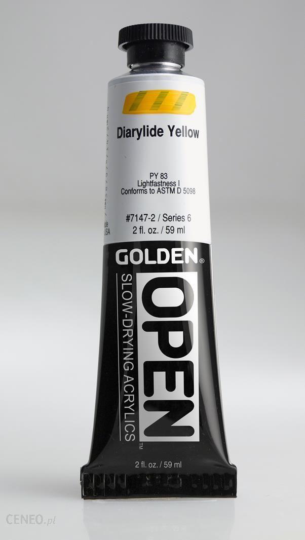 Golden OPEN Diarylide Yellow 59ml -farba