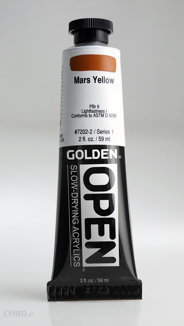 Golden OPEN Mars Yellow 59ml -farba
